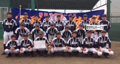 第23回東邦ガス旗争奪東海大会 11期生 準優勝!